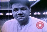 Image of Jack Dempsey; Babe Ruth; Charles Lindbergh; Herbert Hoover; Al Smith;  United States USA, 1927, second 20 stock footage video 65675032139