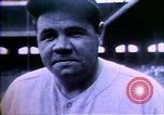 Image of Jack Dempsey; Babe Ruth; Charles Lindbergh; Herbert Hoover; Al Smith;  United States USA, 1927, second 21 stock footage video 65675032139