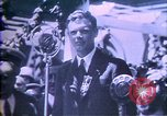 Image of Jack Dempsey; Babe Ruth; Charles Lindbergh; Herbert Hoover; Al Smith;  United States USA, 1927, second 53 stock footage video 65675032139