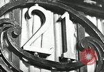 Image of 21 Club New York United States USA, 1930, second 1 stock footage video 65675032144