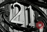 Image of 21 Club New York United States USA, 1930, second 2 stock footage video 65675032144