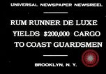 Image of rum running scandal Brooklyn New York City USA, 1930, second 2 stock footage video 65675032145