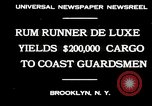 Image of rum running scandal Brooklyn New York City USA, 1930, second 4 stock footage video 65675032145