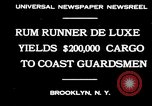 Image of rum running scandal Brooklyn New York City USA, 1930, second 8 stock footage video 65675032145