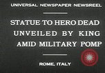 Image of honor to soldiers Rome Italy, 1930, second 6 stock footage video 65675032147