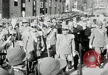 Image of honor to soldiers Rome Italy, 1930, second 22 stock footage video 65675032147