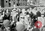 Image of honor to soldiers Rome Italy, 1930, second 24 stock footage video 65675032147