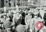 Image of honor to soldiers Rome Italy, 1930, second 25 stock footage video 65675032147