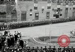 Image of honor to soldiers Rome Italy, 1930, second 48 stock footage video 65675032147
