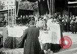 Image of honor to soldiers Rome Italy, 1930, second 56 stock footage video 65675032147