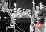 Image of honor to soldiers Rome Italy, 1930, second 58 stock footage video 65675032147