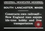 Image of railroad model South Lancaster Massachusetts USA, 1930, second 4 stock footage video 65675032150