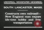 Image of railroad model South Lancaster Massachusetts USA, 1930, second 5 stock footage video 65675032150
