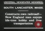 Image of railroad model South Lancaster Massachusetts USA, 1930, second 7 stock footage video 65675032150