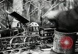 Image of railroad model South Lancaster Massachusetts USA, 1930, second 38 stock footage video 65675032150