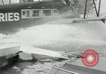 Image of amphibian aircraft San Francisco California USA, 1930, second 28 stock footage video 65675032158