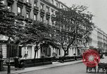 Image of Leinster Gardens facade houses London England United Kingdom, 1930, second 5 stock footage video 65675032160