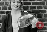 Image of blond girl New York United States USA, 1930, second 24 stock footage video 65675032161