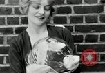Image of blond girl New York United States USA, 1930, second 25 stock footage video 65675032161