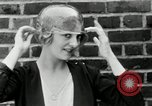 Image of blond girl New York United States USA, 1930, second 35 stock footage video 65675032161
