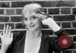 Image of blond girl New York United States USA, 1930, second 36 stock footage video 65675032161