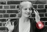 Image of blond girl New York United States USA, 1930, second 38 stock footage video 65675032161