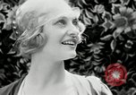 Image of blond girl New York United States USA, 1930, second 56 stock footage video 65675032161