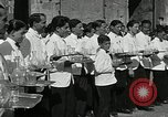 Image of saloon waiters Rome Italy, 1930, second 4 stock footage video 65675032163