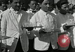 Image of saloon waiters Rome Italy, 1930, second 9 stock footage video 65675032163