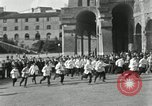 Image of saloon waiters Rome Italy, 1930, second 13 stock footage video 65675032163
