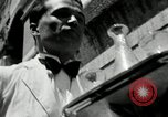 Image of saloon waiters Rome Italy, 1930, second 28 stock footage video 65675032163