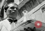 Image of saloon waiters Rome Italy, 1930, second 29 stock footage video 65675032163