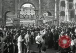 Image of saloon waiters Rome Italy, 1930, second 48 stock footage video 65675032163