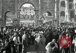 Image of saloon waiters Rome Italy, 1930, second 49 stock footage video 65675032163