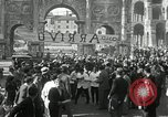 Image of saloon waiters Rome Italy, 1930, second 52 stock footage video 65675032163