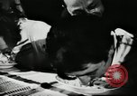 Image of spaghetti eating competition United States USA, 1950, second 2 stock footage video 65675032172