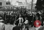 Image of unemployed men during great depression Newark New Jersey USA, 1937, second 8 stock footage video 65675032186