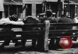 Image of unemployed men during great depression Newark New Jersey USA, 1937, second 21 stock footage video 65675032186