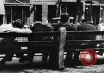 Image of unemployed men during great depression Newark New Jersey USA, 1937, second 22 stock footage video 65675032186