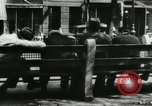 Image of unemployed men during great depression Newark New Jersey USA, 1937, second 23 stock footage video 65675032186
