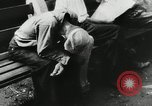Image of unemployed men during great depression Newark New Jersey USA, 1937, second 24 stock footage video 65675032186