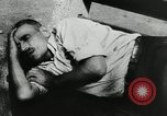 Image of unemployed men during great depression Newark New Jersey USA, 1937, second 39 stock footage video 65675032186