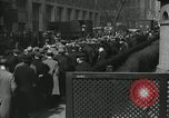 Image of unemployment crisis during great depression New York City USA, 1930, second 15 stock footage video 65675032192