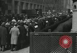 Image of unemployment crisis during great depression New York City USA, 1930, second 20 stock footage video 65675032192