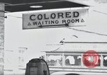 Image of Jim Crow law signs Richmond Virginia USA, 1939, second 26 stock footage video 65675032239