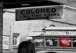 Image of Jim Crow law signs Richmond Virginia USA, 1939, second 28 stock footage video 65675032239