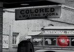 Image of Jim Crow law signs Richmond Virginia USA, 1939, second 29 stock footage video 65675032239
