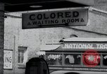 Image of Jim Crow law signs Richmond Virginia USA, 1939, second 30 stock footage video 65675032239