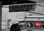 Image of Jim Crow law signs Richmond Virginia USA, 1939, second 31 stock footage video 65675032239