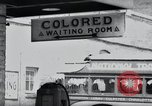 Image of Jim Crow law signs Richmond Virginia USA, 1939, second 32 stock footage video 65675032239
